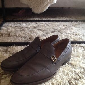 Mens Gucci dress shoes bit loafers 10 princetown